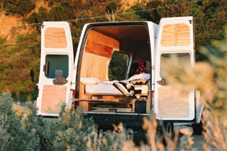 """9 Adventure Seekers Who Celebrate Small Space Living Through the Van Life - Photo 3 of 10 - This Australian """"herbivore"""" is making a living off the land, so to speak, from her double-volume van. She traverses the countryside, makes things with plants, and sells them whenever possible."""