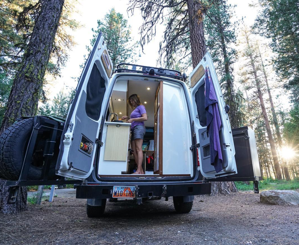 Photo 7 of 11 in 9 Adventure Seekers Who Celebrate Small Space Living Through the Van Life
