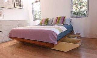 Accessible bedroom storage