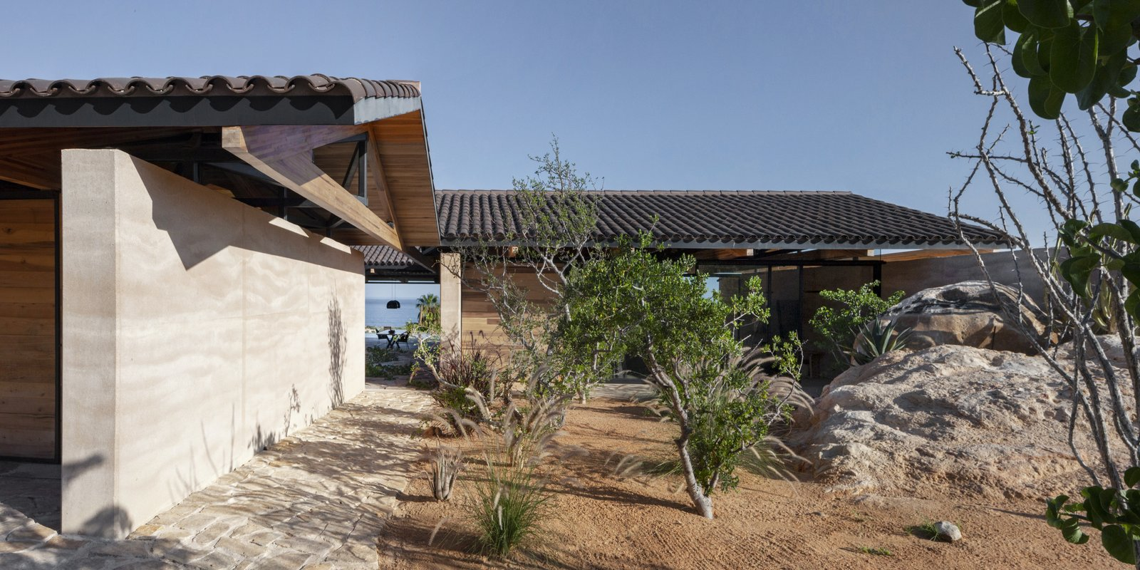 Exterior, House Building Type, Beach House Building Type, and Wood Siding Material  Cabo House