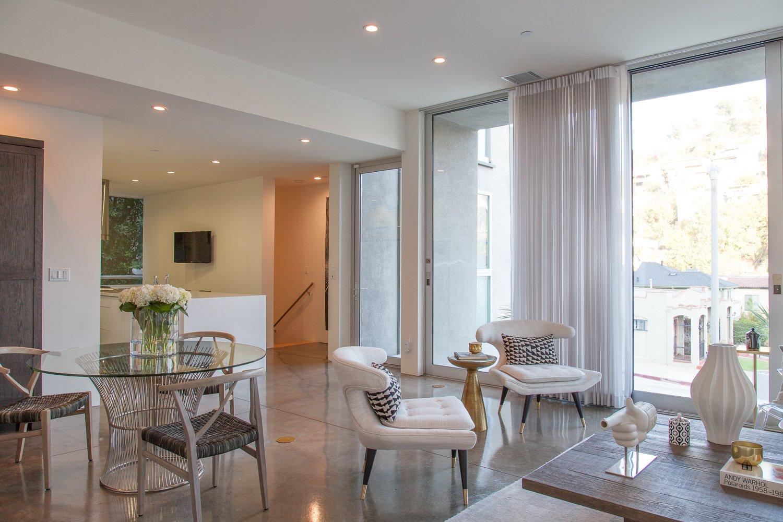 Living Room  leeMundwiler architects, FAIA :: Cantilever House