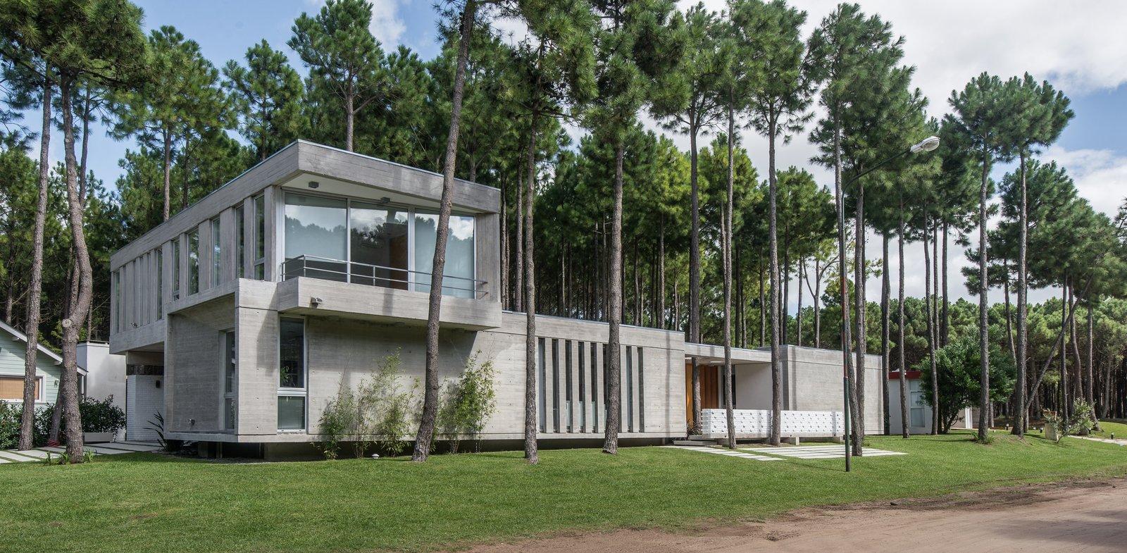 Tagged: Outdoor, Front Yard, and Trees.  Casa Batin by Estudio Galera