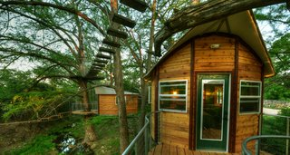 Experience Tree-Top Living at One of These Sustainable Tree Houses - Photo 2 of 15 - The Willow & Juniper tree house by ArtisTree
