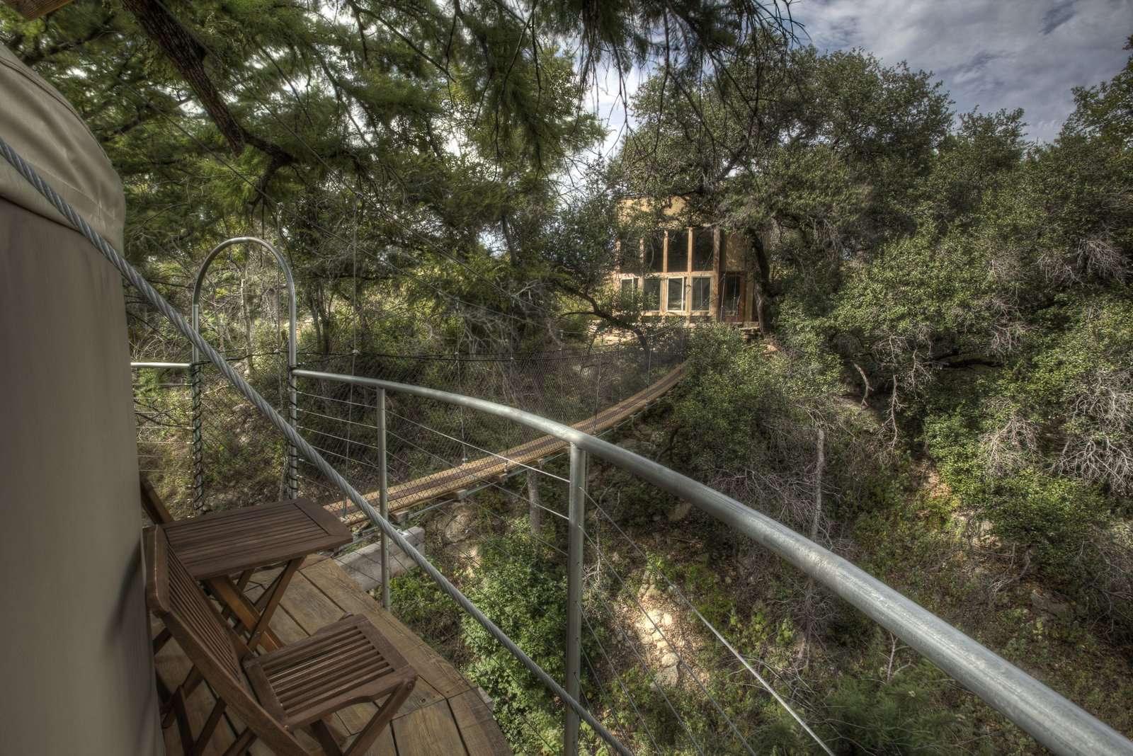 Outdoor and Trees The Lofthaven tree house by ArtisTree  Photo 9 of 16 in Experience Tree-Top Living at One of These Sustainable Tree Houses