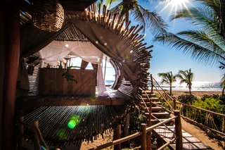 Experience Tree-Top Living at One of These Sustainable Tree Houses - Photo 14 of 15 - The Playa Viva tree house by ArtisTree