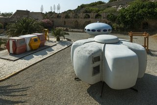 At Utopie Plastic, Futuristic Plastic Homes Make an Appearance at a 19th-Century Metal Factory - Photo 1 of 9 -