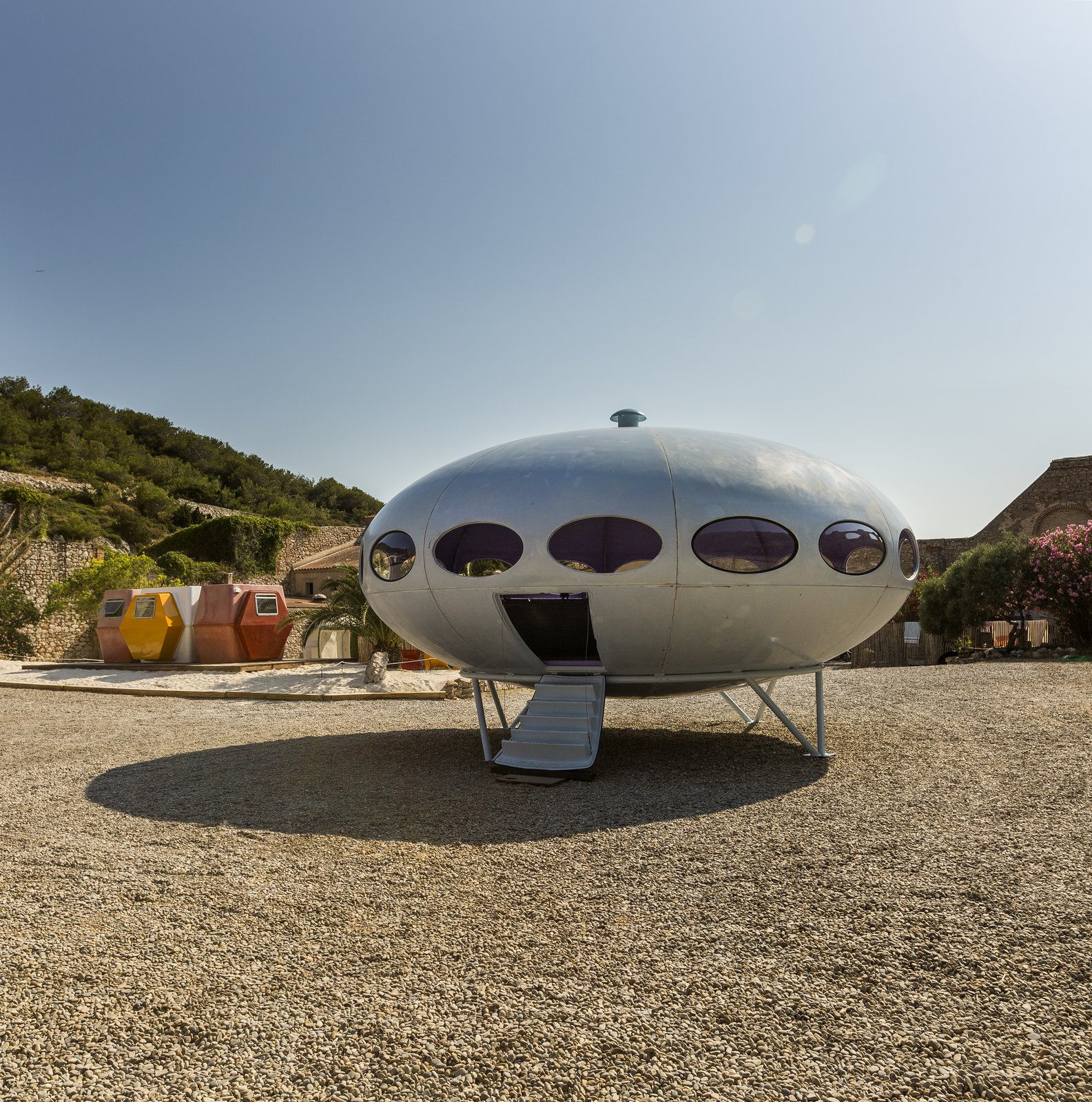 Photo 7 of 10 in At Utopie Plastic, Futuristic Plastic Homes Make an Appearance at a 19th-Century Metal Factory