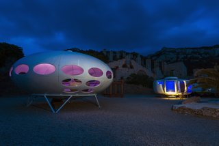 At Utopie Plastic, Futuristic Plastic Homes Make an Appearance at a 19th-Century Metal Factory - Photo 9 of 9 -
