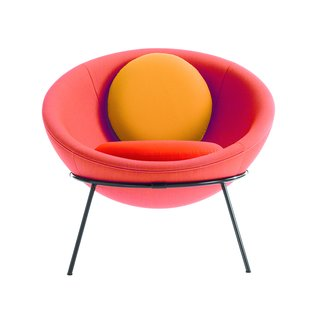 The colorful, tropical-inspired new versions of Bo Bardi's Bowl Chair are now being produced by Arper.