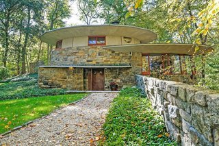 "Built in 1948 and named ""Toyhill"" by Wright himself, this Usonian home is considered an artistic masterpiece and shows the architect's early interest in overlapping circular masonry, which would become an innovative and iconic treatment found in his later work—including the Guggenheim Museum."