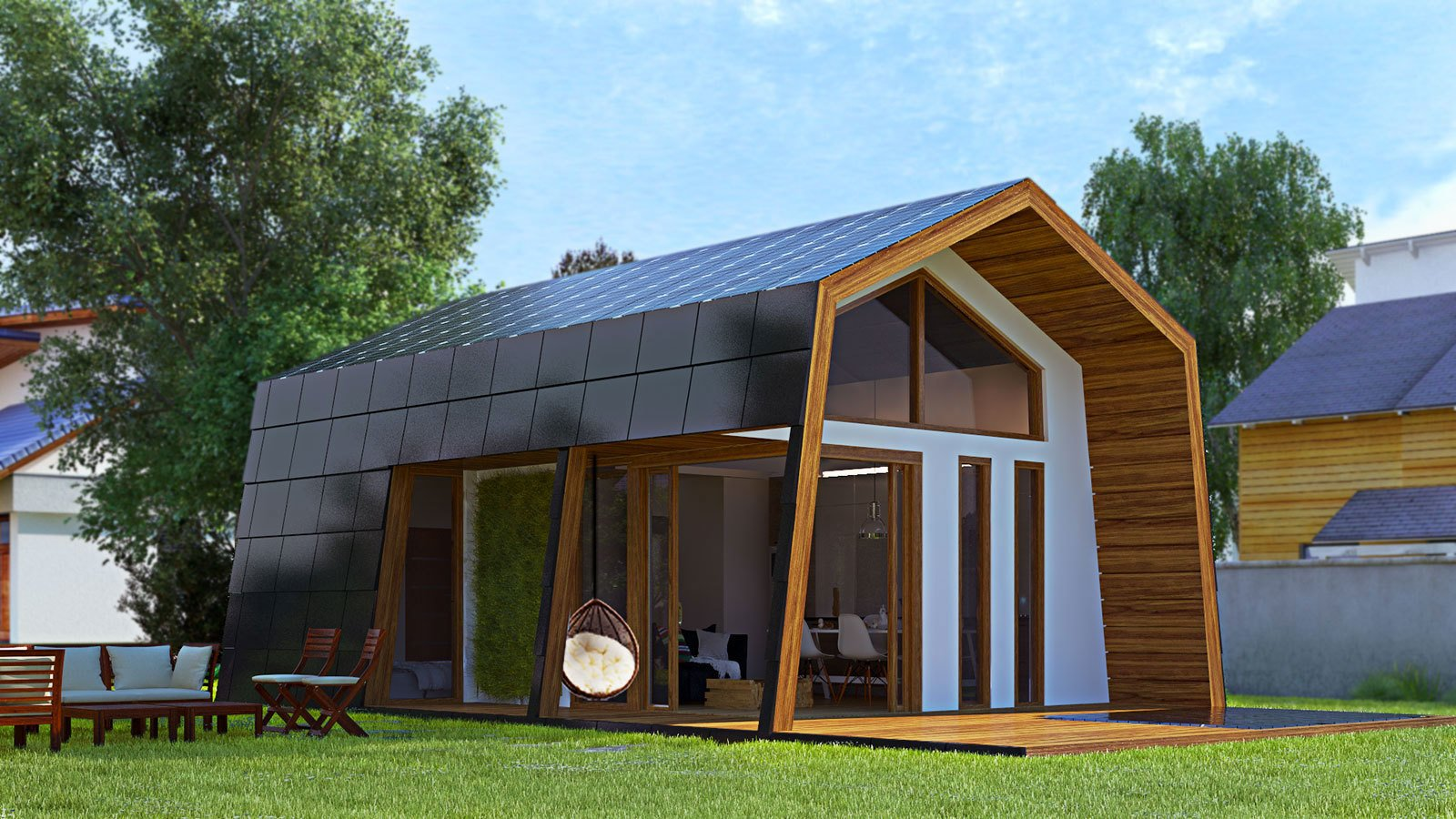 Photo 10 Of 14 In 13 Modern Prefab Cabins You Can Buy