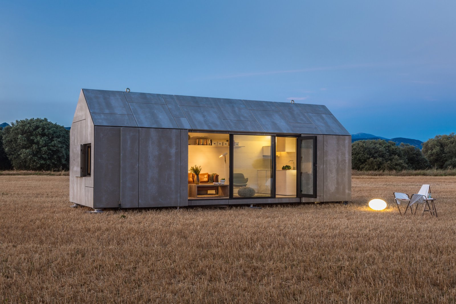 Exterior, Cabin Building Type, and Prefab Building Type  Best Photos from 13 Modern Prefab Cabins You Can Buy Right Now