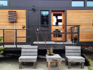 GreenPod Development seeks to create sustainable living through quality, beauty, innovation, and healthy environments. Founded by Ann Raab, the company creates prefabricated tiny homes for the Seattle area that are affordable, aesthetically pleasing, and environmentally responsible. The homes can be designed to be on wheels or stationary, and their construction employs local craftsmen. Their homes are all designed to Built Green and LEED certifications.