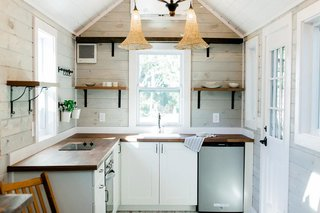 Sanctuary Tiny Homes builds beautiful, eco-friendly tiny homes, which are all customizable. They have two main models—Tiny Marta and Tiny Lucy, which begin at $55,000—but they also create custom tiny homes for clients. Additionally, they offer tiny home shells starting at $17,000, which are perfect for those looking for a DIY project. One-on-one design and construction consultations are also available.
