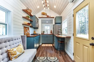 Located just outside of Atlanta, Mustard Seed Tiny Homes is a premium tiny house builder that bridges affordability with high-end finishes and quality materials. Although they take pride in their quality models, they also offer custom trailers at different stages of completion for the DIY-ers. More so, they have partnered with a local nonprofit that serves the elderly, disabled, and families in need throughout Atlanta, as well as a nonprofit in Cape Town, South Africa, that employs local men to build new homes in their township.