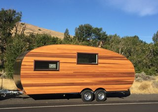 With a founder who originally had a career as a sustainability consultant, Homegrown Trailers is a social purpose corporation based in Kirkland, Washington, that produces and sells sustainable, handcrafted travel trailers. The company seeks to create eco-friendly, healthy living spaces, often for clients with a love of nature, travel, and adventure. As a result, the business almost exclusively focuses on RV design, with prices starting at around $40,000 for an on-grid package, and about $48,000 for an off-grid package.