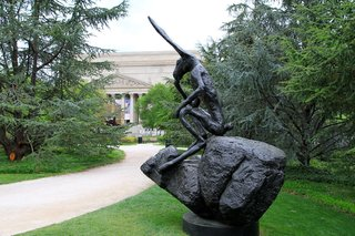 The Sculpture Garden of the National Gallery of Art in Washington, D.C.