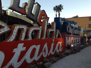 The Neon Museum in Las Vegas, Nevada