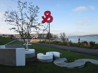 Olympic Sculpture Park in Seattle, Washington