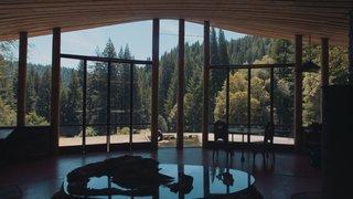 Astounding views fill the glass windows.