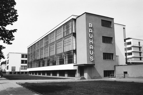 Bauhaus Dessau, completed in 1925 and designed by Walter Gropius.