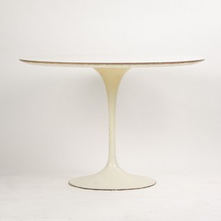 The classic Tulip Table designed by Eero Saarinen for Knoll can be found on eBay in a range of sizes, materials, and prices depending on condition and age.