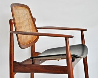 Scandinavian design became very popular in the United States in the 1960s due to its focus on simple, ergonomic forms made out of quality materials.