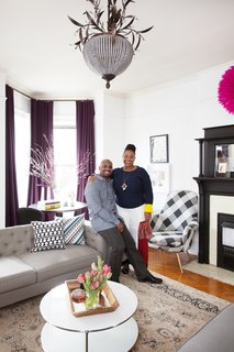 The husband-and-wife duo of Jeanine Hays and Bryan Mason are the founders of creative design agency AphroChic, which does everything from interior design to publishing to fabric and lighting design.