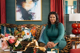 Veronica Solomon of Casa Vilora Interiors brings an eye for bold color and pattern mixing, often inspired by her Jamaican heritage, to her projects.