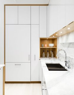 Cooke John's focus on residential design allows her to consider design at a range of scales, from the individual home to the broader context. This kitchen renovation in Chelsea was completed with Anne-Marie Singer.