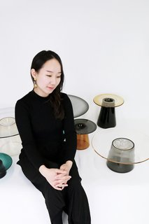 Artist and designer Nina Cho is inspired by concepts rooted in traditional Korean art but with a modern, minimalist aesthetic.