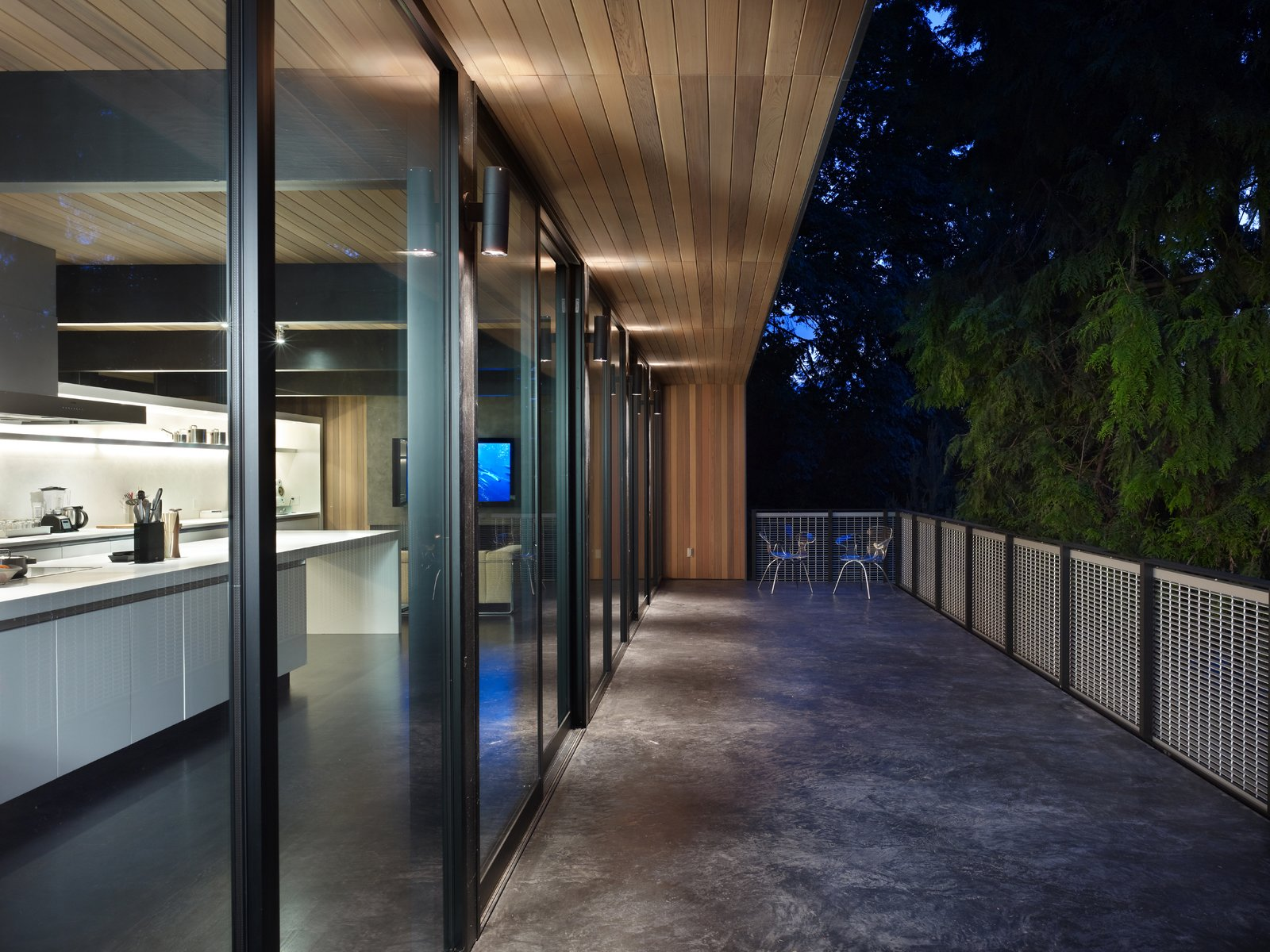 Deck  Wood Block Residence by chadbourne + doss architects