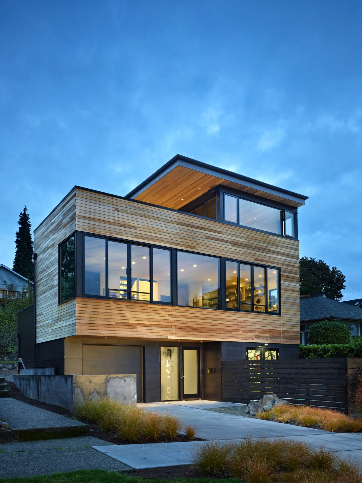 Cycle House Modern Home Seattle Washington Chadbourne Doss Dwell