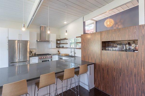 Mid Century Modern Kitchen Modern Home In San Rafael