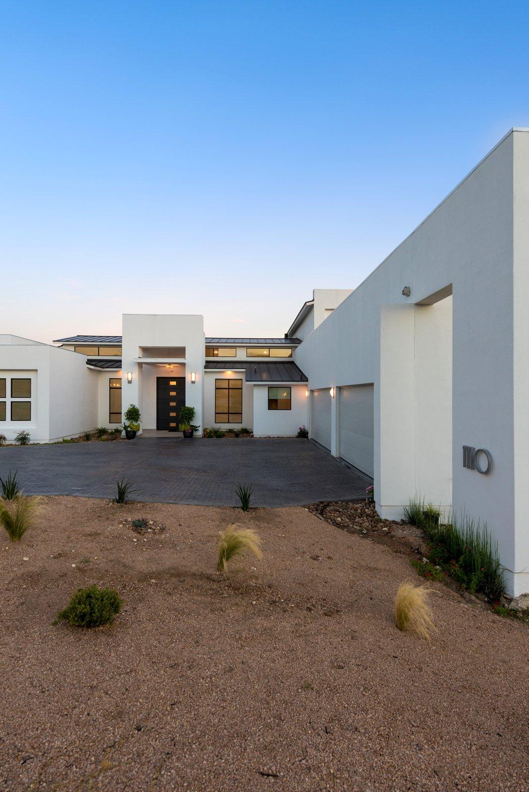 FRONT  ORVANANOS HOUSE by OSCAR E FLORES DESIGN STUDIO
