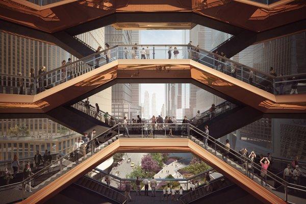 A New Kind of Public Landmark: New York's Interactive Centerpiece by Heatherwick Studio - Photo 2 of 3 -
