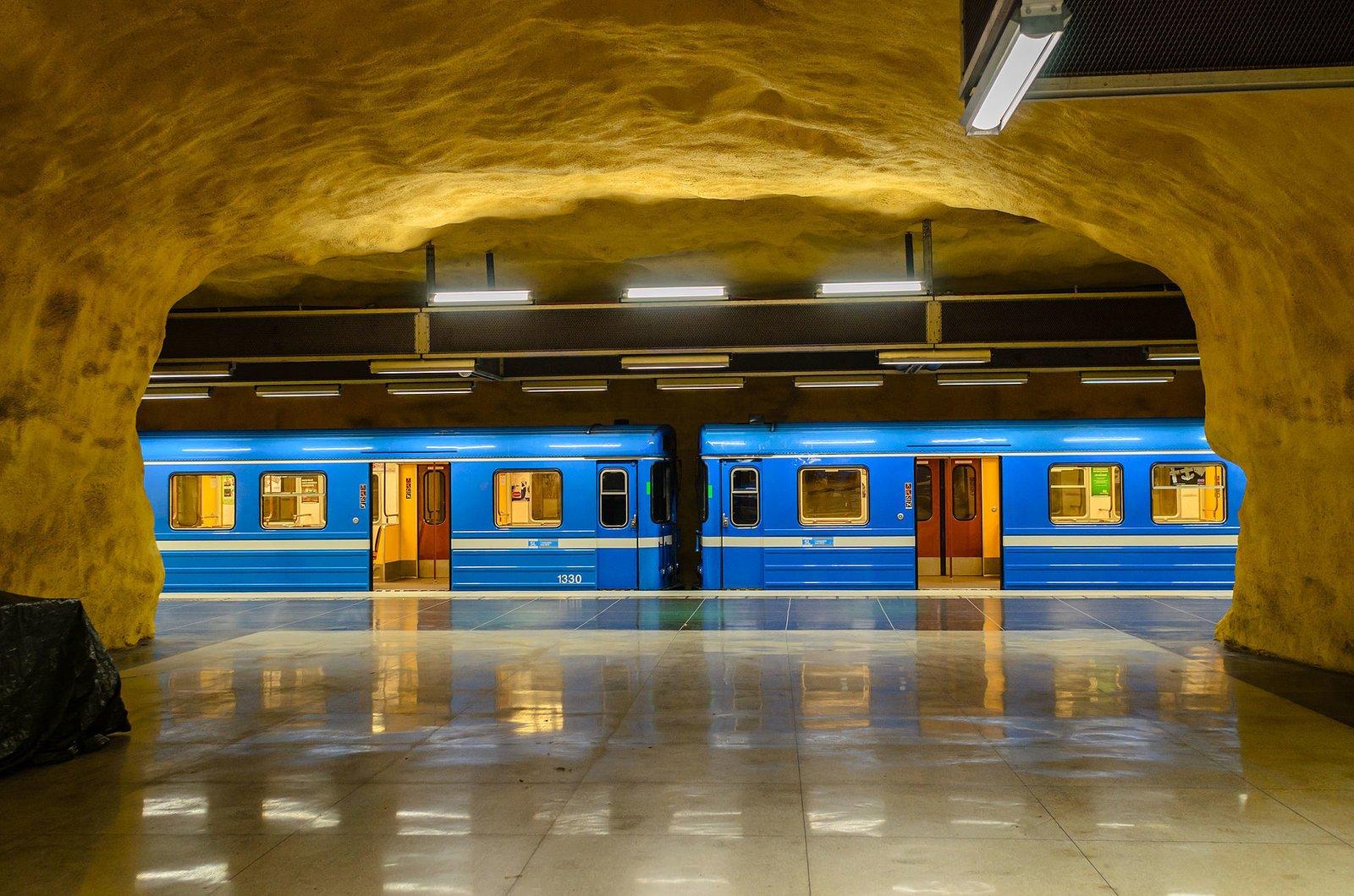 Photo 6 of 10 in Explore the Stockholm Metro For a Tour Through 5 Decades of European Art History