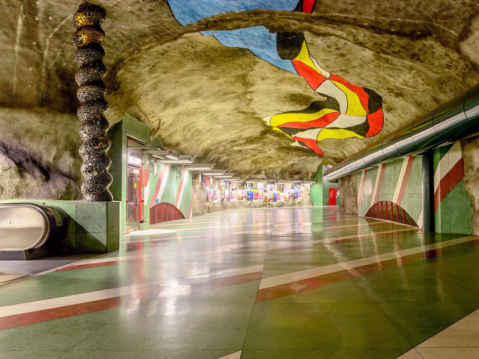 Photo 1 of 10 in Explore the Stockholm Metro For a Tour Through 5 Decades of European Art History
