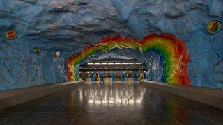 Explore the Stockholm Metro For a Tour Through 5 Decades of European Art History - Photo 4 of 9 -