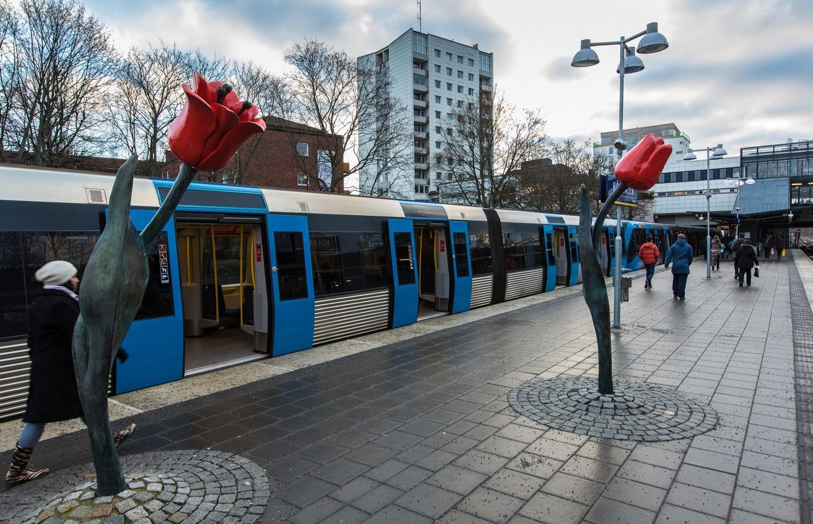 Photo 9 of 10 in Explore the Stockholm Metro For a Tour Through 5 Decades of European Art History
