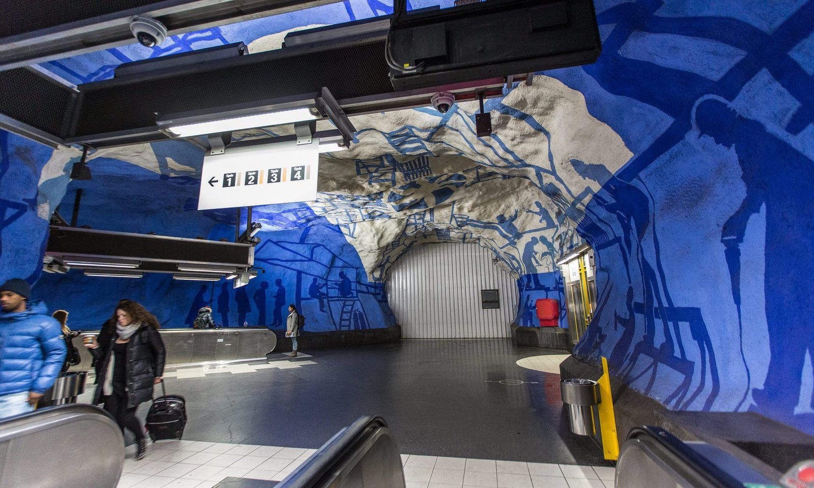 Photo 10 of 10 in Explore the Stockholm Metro For a Tour Through 5 Decades of European Art History