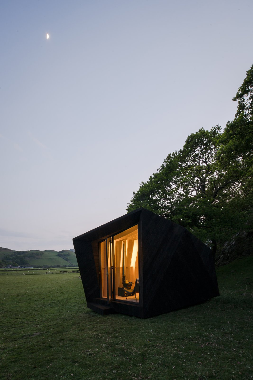 Photo 4 of 11 in Tour One of Epic Retreat's Tiny Pop-Up Hotel Cabins in the Welsh Countryside