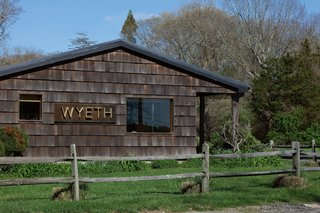 WYETH'S Sagaponack location, built by the owners themselves in 2008.