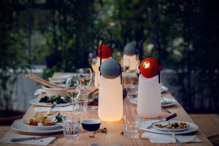 This portable light was designed by Floris Schoonderbeek to be used as lantern that sits upright—or converted into a helpful flashlight.