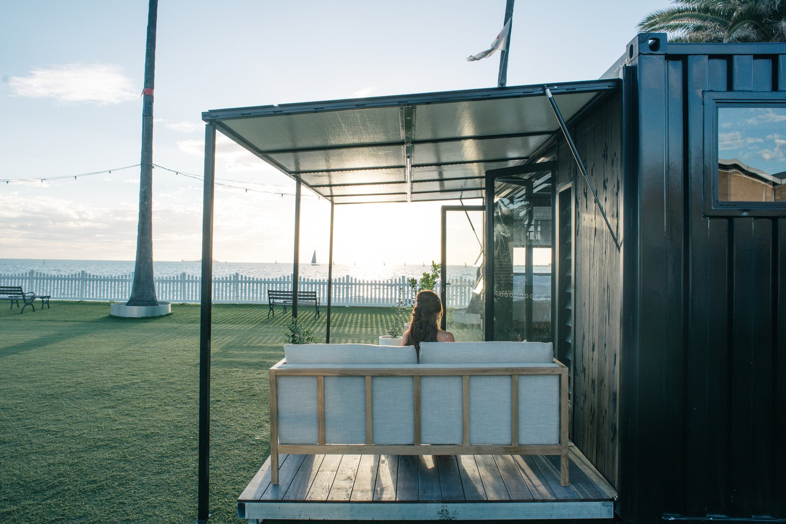 Photo 8 of 9 in An Australian Firm Makes Portable Hotel Rooms Out of Shipping Containers