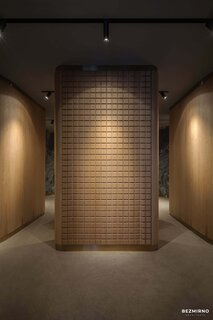 Fitting rooms design