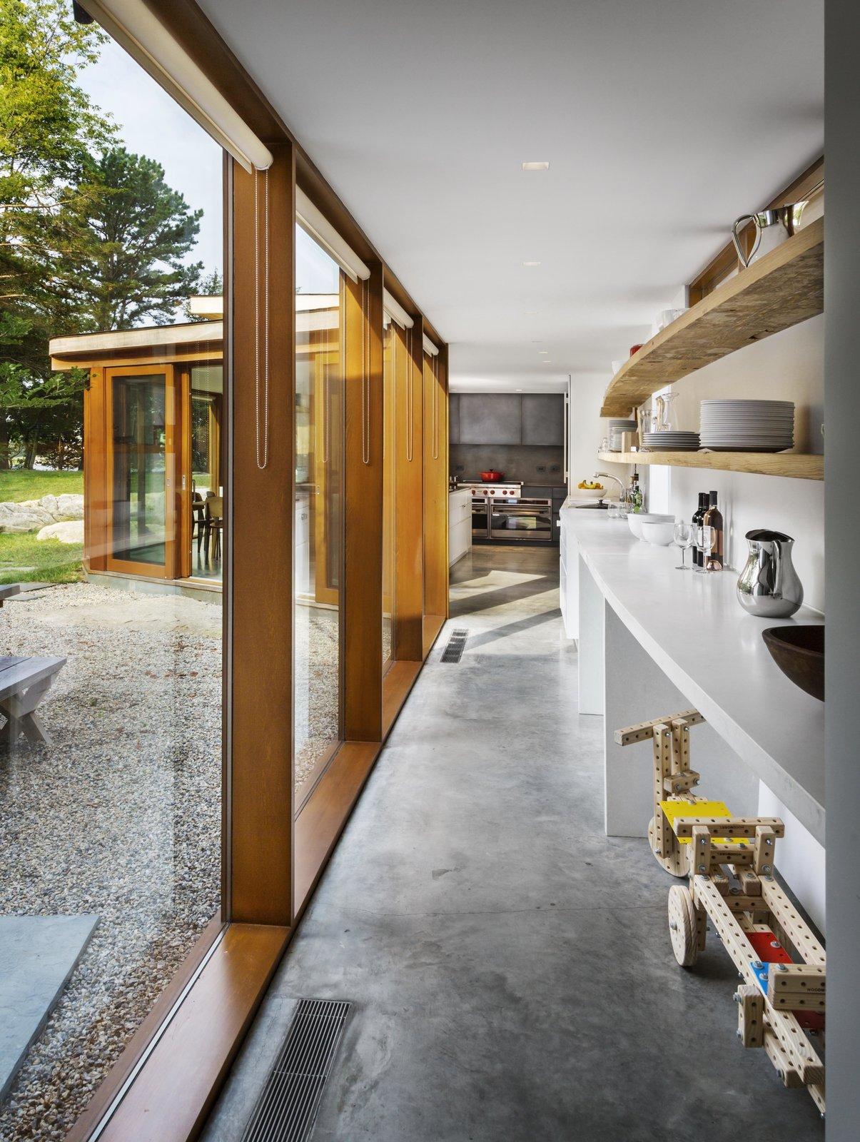 Hallway and Medium Hardwood Floor  Best Photos from Stonington/Lincoln Residence