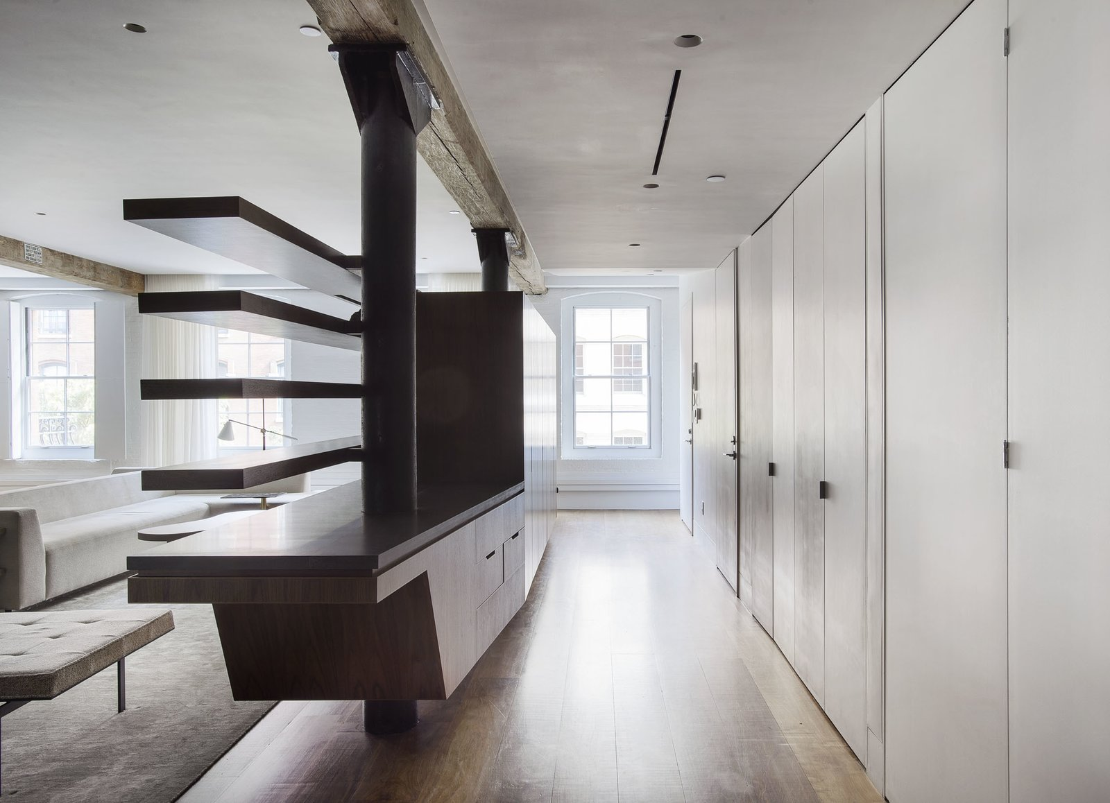 Entry  Tribeca Loft by Office of Architecture