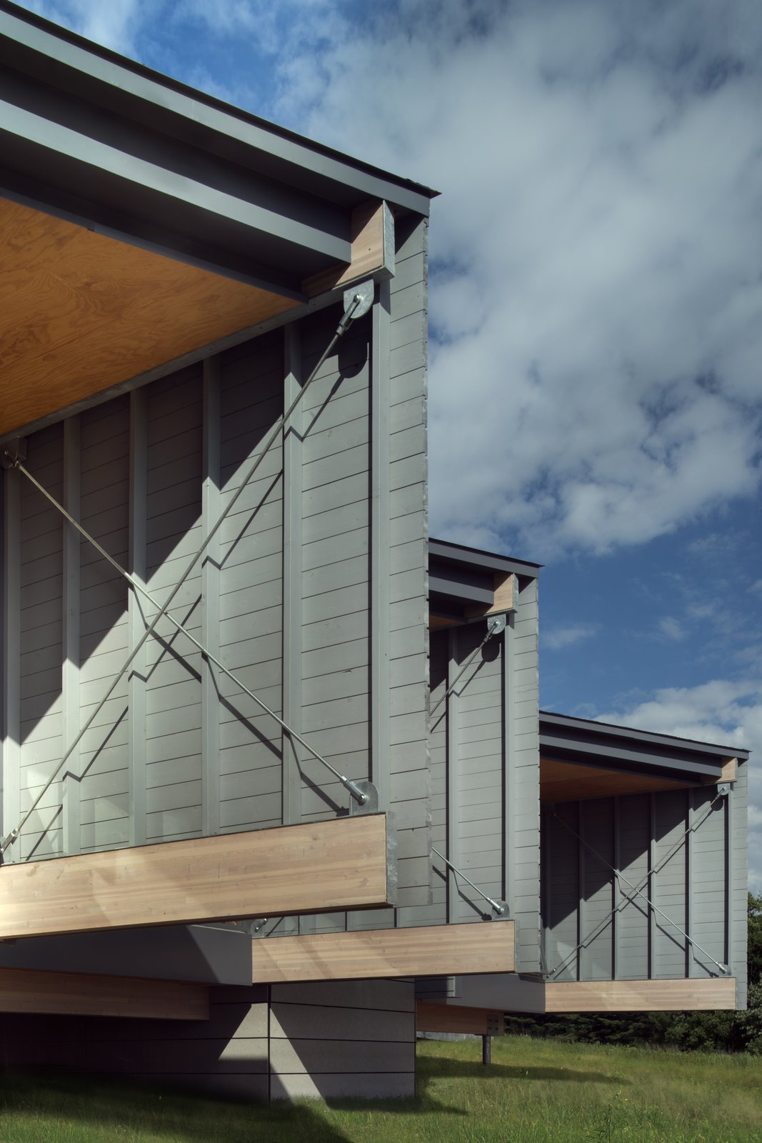 Exterior, House Building Type, Cabin Building Type, Wood Siding Material, and Shed RoofLine  High Meadow at Fallingwater by Bohlin Cywinski Jackson