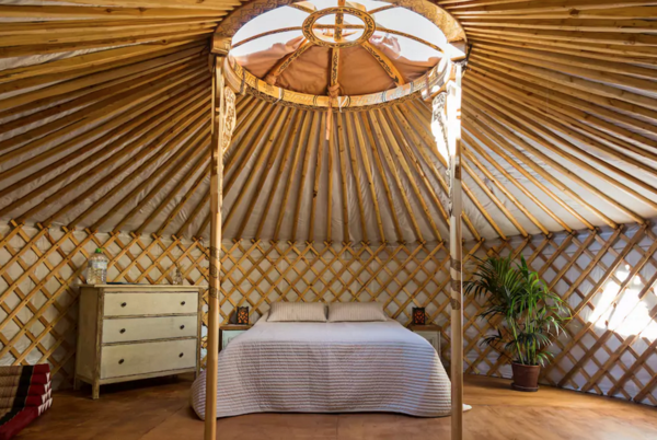 9 Yurt Vacation Rentals For the Modern Alternative Camper - Photo 9 of 9 -